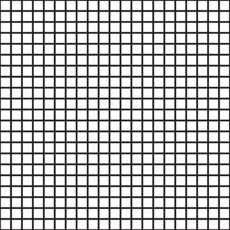 Vector Uniform Grid checkered seamless pattern.