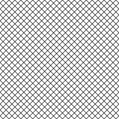 Vector Uniform Grid fishnet tights seamless pattern. Ilustração