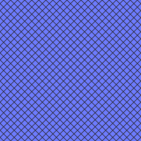 Vector seamless pattern. Blue with black fishnet tights background.