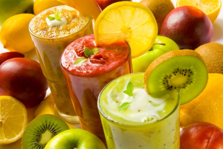 fruit smoothie: Smoothies