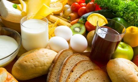 alimentos saludables: Comida Foto de archivo