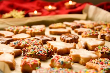 cookie sheet: Christmas cookies