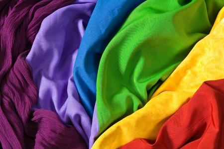 telas de colores: Telas coloridas
