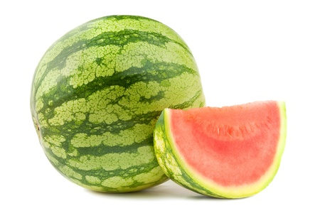 water melon: Water melon and section