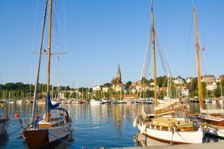 baltic sea: Flensburg Stock Photo