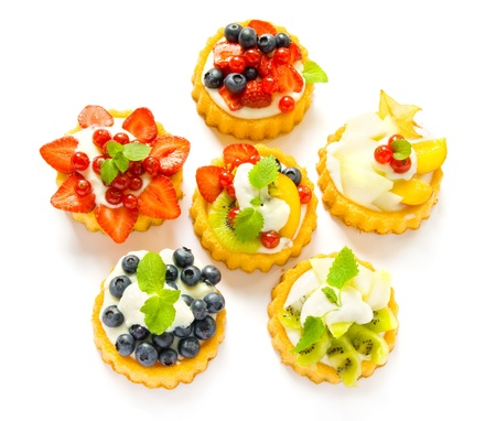 sweet pastry: Fruit tarts