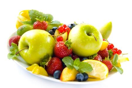 mixed fruits: Colorful fruits