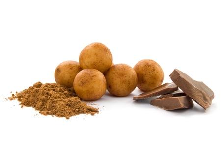 marzipan: Marzipan potatoes