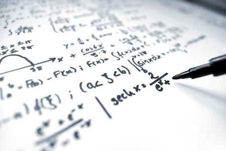 equations: Mathematics Stock Photo
