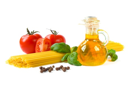 Pasta ingredients Stock Photo - 12417281