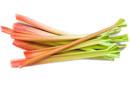 rhubarb: Rhubarb Stock Photo