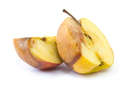 Rotten apple Stock Photo - 12417047