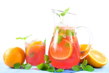 punch: Sangria Stock Photo