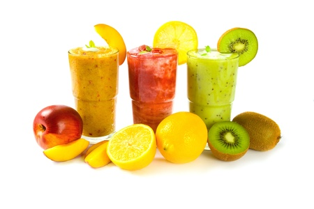 smoothies: Fruit drinks