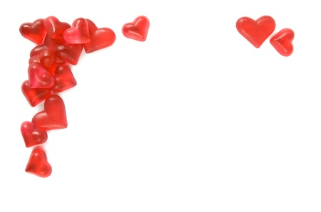 Hearts border Stock Photo - 12416709