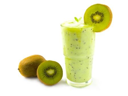 slush: Kiwi smoothie