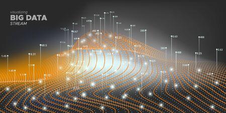 Complex Big Data. System Visualization. Big Data Background. Orange 3d Abstraction. Black Complexity Abstract. Graph Futuristic. Matrix Visualization. Complex Big Data.