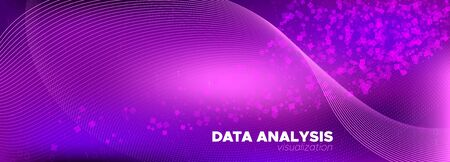 Particle Future. Pink Big Data Analysis. Glow Tech Abstract. Binary Matrix Background. Particle Motion. Purple Big Data Concept. Tech Banner. Violet Binary Number Wallpaper. Digital Particles. Banque d'images - 129695961