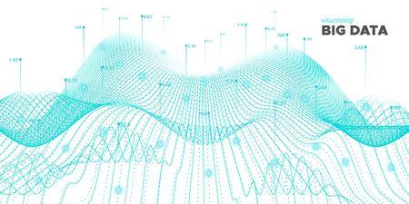 Data Tech. White Technology Background. Cyber Network. Teal Graph Big Data. Teal Industrial Tech. Statistic Illustration. White Cyber Network. System Big Data. Virtual Effect. Ilustração