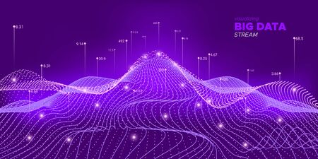 Neon Big Data Screen. Complexity Abstract. Big Data Illustration. Purple Graph Futuristic. Complexity Abstract. Digital Binary Wave. Background Statistic. Big Data Network.