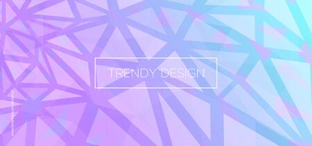 Digital Triangular Background. Abstract Polygon Pattern. Mosaic Vector Illustration. Neon Geometric Shapes. Triangles Wallpaper. Music Polygon Layout. Vector Presentation. Triangles Background.