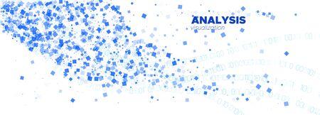 Matrix Codes. Blue Flow Particle Pattern. White Technology Abstract. Big Data Stream. Blue Matrix Vector. White Particle Background. Blue Information Technology. Data Numbers. Matrix Digits. Çizim