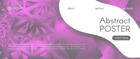 Gradient Science Background. Pink Technology Wallpaper. Futuristic Landing Page. Digital Triangle Graphic. Science Geometric. Gray Technology Illustration. Gradient Landing Page. Science Presentation.