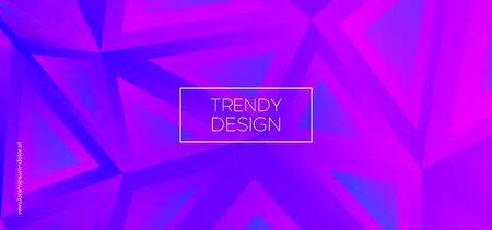 Modern Polygon Background. Digital Triangular Pattern. Graphic Geometry. Purple Futuristic 3d Business Design. Creative Polygon Wallpaper. Triangles Poster. Website Template. Geometric Shapes.