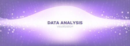 Big Data Concept. Light Particle Future. Pink Tech Abstract. Binary Matrix Background. Big Data Analysis. Digital Particles. Tech Poster. Purple Binary Numbers Movement. Violet Big Data Stream.