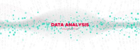 Information Technology. Matrix Vector. Data Numbers. White Binary Background. Technology Wallpaper. Matrix Codes. Big Data Stream. White Particle Background. Technology Abstract.