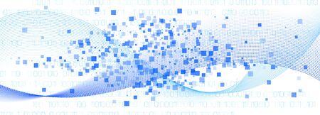Matrix Vector. White Binary Background. Blue Technology Wallpaper. Data Software. White Matrix Digits. Blue Flow Particle Pattern. White Information Technology. Big Data Stream. Matrix Codes.