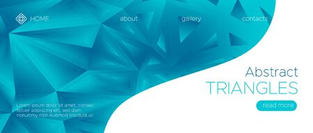 Graphic Polygon Background. Gradient Technology Wallpaper. Geometric Triangle Landing Page. Blue Science Banner. Digital Polygonal Pattern. Blue Futuristic Presentation. Digital Polygonal Pattern.