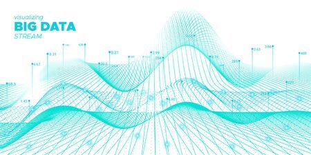 Data Tech. Fluid Futuristic Background. Industry Fractal. Fluid Complex Big Data. White Virtual Effect. Business Background. Fluid Coding Fractal. Vector Big Data. Tech Movement.
