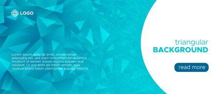 Graphic Polygon Presentation. Gradient Technology Wallpaper. Geometric Triangle Landing Page. Blue Science Pattern. Digital Polygonal Banner. Blue Futuristic Background. Digital Polygonal Pattern.