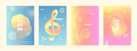 Multicolor Fluid Waves. Pastel Memphis Brochure. Geometric Design. Abstract 3d Pattern. Pink Liquid Waves. Orange Memphis Texture. Blue Geometric Gradient. Contemporary Pattern. Pastel Flow Waves. Иллюстрация