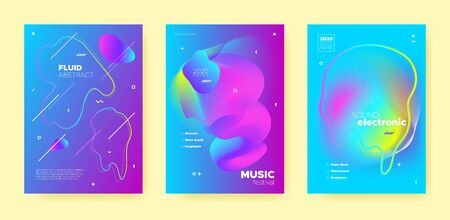 Neon Techno Music Poster. Abstract Gradient Blend. Night Club Festival. Dj Sound. Pink Electro Music Poster. Purple Abstract Gradient Shape. Disco Club Festival. Dj Party. House Music Poster.