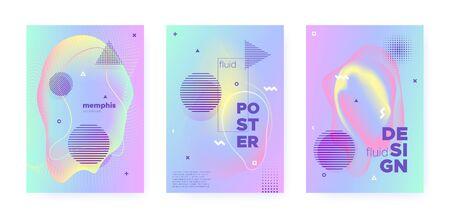 Rainbow Pastel Fluid. Abstract Memphis Illustration. Liquid Banner. Music Brochure. Blue Pastel Flow. Pink Abstract Gradient Elements. Magic Liquid Design. Music Placard. Pastel Shape. Standard-Bild - 137468789
