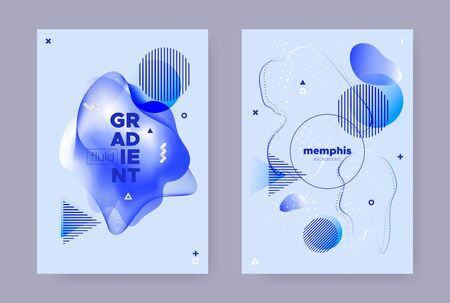 Pastel Hipster Memphis Gradient. Vector Fluid Shapes. Music Cover. Graphic Business Magazine. Hipster Memphis Background. Summer Flow Design. Modern Liquid Cover. Hipster Memphis Brochure.