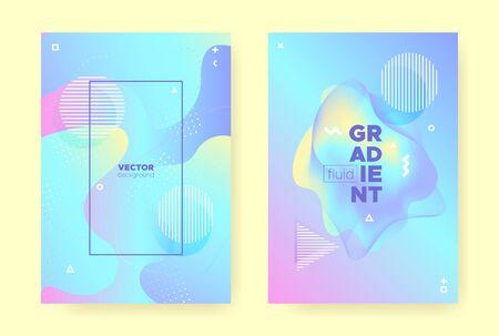 Rainbow Pastel Fluid. Abstract Gradient Illustration. Wave Design. Hologram Brochure. Magic Pastel Cover. Pink Abstract Gradient Background. Unicorn Liquid Design. Hologram Pattern. Pastel Shape.
