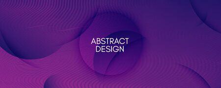 Fluid Background. Abstract Flow Line Wallpaper. Curve Gradient Texture. Vector Minimal Template. Purple Graphic Concept. Dynamic Fluid Background. 3d Brochure. Color Fluid Background.