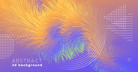 Vibrant Color Poster. Flow Concept. Graphic Motion. Vector Creative Banner. Music Movement. Fluid Color Poster. Gradient Wave Template. Modern Movement. Trendy Dynamic Wallpaper. Color Poster.