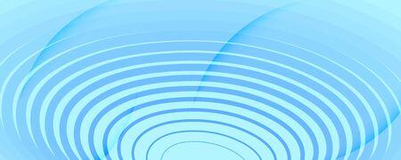 Blue Gradient Background. 3d Flow Shapes Banner. Curve Digital Movement. Light Geometric Template. Gradient Background. Fluid Memphis Layout. Abstract Poster. Gradient Background.