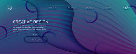 Graphic Fluid. 3d Flow Shape Pattern. Wave Futuristic Banner. Vibrant Technology Illustration. Dynamic Graphic Fluid. Purple Memphis Motion. Abstract Minimal Landing Page. Graphic Fluid.