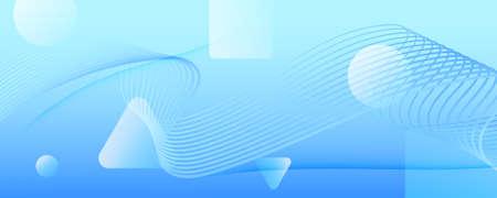 Blue Gradient Background. 3d Flow Shape Pattern. Vivid Business Wallpaper. Light Futuristic Website. Gradient Background. Fluid Vibrant Liquid. Abstract Texture. Gradient Background.
