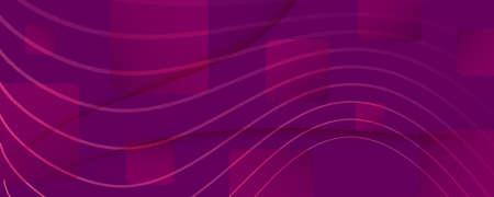 Color Flow Wave. Pink Gradient Background. 3d Fluid Lines. Business Brochure.  Color Flow Wave. Vivid Graphic Concept. Pink Fluid Website. Minimal Poster. Abstract Color Flow Wave. 일러스트