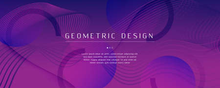 Fluid Background. Abstract Flow Lines Movement. Curve Futuristic Poster. Wave Creative Template. Violet Modern Design. Dynamic Fluid Background. 3d Pattern. Color Fluid Background. 일러스트