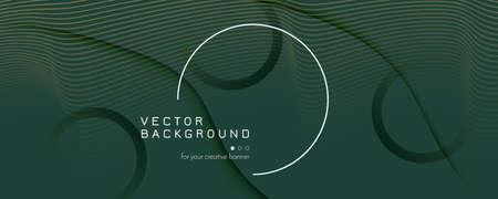 Brown Landing Page Design. 3d Flow Shapes Pattern. Wave Business Background. Green Futuristic Template. Landing Page Design. Fluid Vibrant Concept. Technology Landing Page Design.