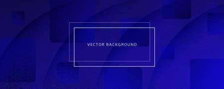 Deep Futuristic Background. Fluid Shape Brochure. 3d Wallpaper. Vector Business Design. Dynamic Memphis Futuristic Background. Flow Illustration. Blue Banner. Futuristic Background. 矢量图像