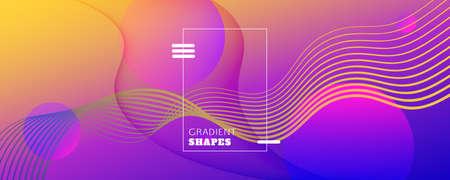 Fluid Abstract. Flow Landing Page. 3d Lines Banner. Wave Geometric Background. Colorful Minimal Illustration. Memphis Futuristic Layout. Vivid Fluid Abstract. Digital Flow Gradient Brochure.