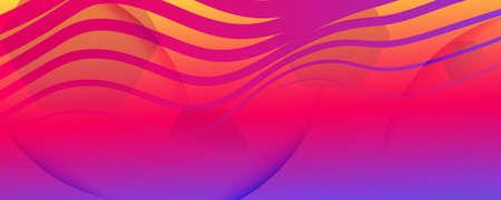 Colorful Fluid Shape. Flow Abstract Elements. Curve Geometric Lines. Business Fluid Shape. Wavy Texture. Flow Concept. 3d Movement. Gradient Background. Bright Illustration. Fluid Shape.